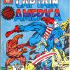 Captain America #1, published by Newton Comics in Australia.