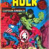 The Incredible Hulk #03. Published by Newton Comics. Featuring the Steranko artwork from Captain America #110.