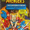 'The Avengers' #11, published by Newton Comics in Australia.