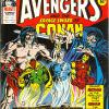 The Avengers #125. Week Ending January 28th 1976.