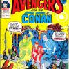 The Avengers #134. Week Ending April 10th 1976.