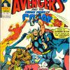 The Avengers #148. Week Ending July 14th 1976.