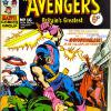 The Avengers #16. Week Ending January 5th 1974.