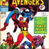 The Avengers #18. Week Ending January 19th 1974.