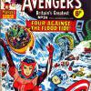 The Avengers #24. Week Ending March 2nd 1974.