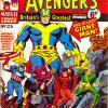 The Avengers #25. Week Ending March 9th 1974.