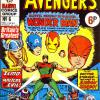 The Avengers #6. Week Ending October 27th 1973.