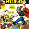 The Avengers #68. Week Ending January 4th 1975.