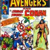 The Avengers #95. Week Ending July 12th 1975.