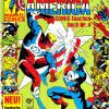 Captain America COMIC-Taschenbuch #4. Published by Condor in Germany.