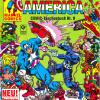 Captain America COMIC-Taschenbuch #9. Published by Condor in Germany.