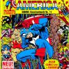 Captain America COMIC-Taschenbuch #11. Published by Condor in Germany.
