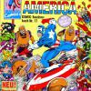 Captain America COMIC-Taschenbuch #17. Published by Condor in Germany.