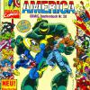 Captain America COMIC-Taschenbuch #20. Published by Condor in Germany.