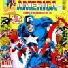 Captain America COMIC-Taschenbuch #26. Published by Condor in Germany.