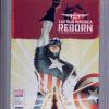 Captain America: Reborn #2 (Oct 2009) CGC 9.2. Variant Cover.