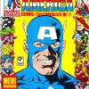 Captain America COMIC-Taschenbuch #1. Published by Condor in Germany.
