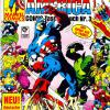 Captain America COMIC-Taschenbuch #3. Published by Condor in Germany.