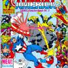 Captain America COMIC-Taschenbuch #7. Published by Condor in Germany.