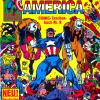 Captain America COMIC-Taschenbuch #8. Published by Condor in Germany.