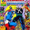 Captain America COMIC-Taschenbuch #13. Published by Condor in Germany.