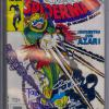 The Spanish Edition, Spiderman El Hombre Arana #188. Signed by Todd McFarlane, David Michelinie and Bob McLeod.