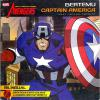 Here's a fun one from Indonesia. Avengers - Earth's Mightiest Heroes - Meet Captain America (obviously taken from the networked cartoon). Published by Adinata in 2012, a bi-lingual comic with the main text in Indo with English translation below it.