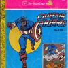 Captain America #076 (Indonesia). Probable Bootleg. Has 076 on cover with Seri Tupai Emas. Comic publisher? Series?? Who knows. Insides are cardboard and story is lifted from the 1960's U.S. Cartoon.