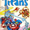 Titans 29, published in France by Editions LUG. Apart from the Invaders, it also collects Star Wars, Iron Fist and Captain Marvel ..
