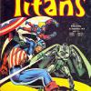 Titans 16, published in France by Editions LUG. Apart from the Champions, it also collects Iron Fist,  Captain Marvel and Skull..