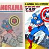 This is an 'A>B' comparison between the 'Panorama' #112 cover and the image it was lifted from .. a Marvel Masterwork Pin-Up from 'Avengers' #10. Interesting to note the Art changes that the Yugoslavs made.