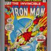 Iron Man #57 Old-Style CGC label. Graded 9.4.