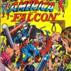 Captain America And The Falcon - #195 - National Book Store (Philippines).