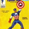 "Spanish 'Capitan America' from the Edicion Internacionales stable. A curious comic .. measuring a mere 9"" x 6"" .. black and white interiors and .. 128 pages!"