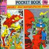 The Titans Pocket Book #3. Part of Marvel U.K.'s Pocket Digest Series. This comic partly depicts Tales of Suspense #66.