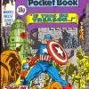 The Titans Pocket Book #5. Part of Marvel U.K.'s Pocket Digest Series. This comic partly depicts Tales of Suspense #70.