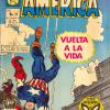 Capitan America #11 from Mexico. Published by La Prensa, this issue takes its cover from Tales of Suspense #96.