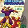 Capitan America #12 from Mexico. Published by La Prensa, this issue takes its cover from Tales of Suspense #97.