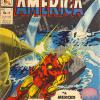 Capitan America #14 from Mexico. Published by La Prensa, this issue takes its cover from Tales of Suspense #99.