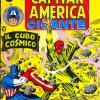 Capitan America Gigante #4, published by Editoriale Corno in Italy. Cover taken from Tales of Suspense #80.