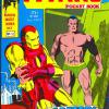 The Titans Pocket Book #12. Part of Marvel U.K.'s Pocket Digest Series. This comic partly depicts Tales of Suspense #79.
