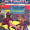 Fantastic #21, 8th July 1967. Published in the U.K. by Odhams Press Ltd. This cover depicts Tales of Suspense #52.